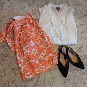 Merona ruffle blouse